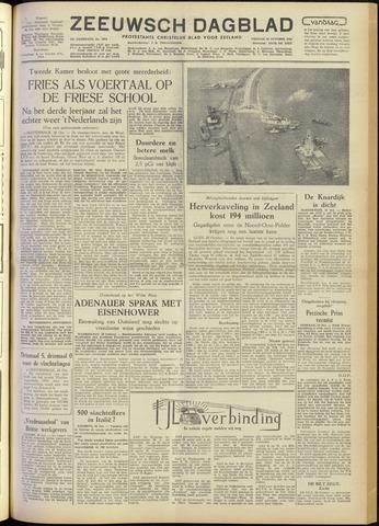 Zeeuwsch Dagblad 1954-10-29