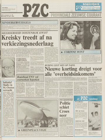 Provinciale Zeeuwse Courant 1983-04-25