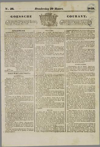 Goessche Courant 1849-03-29