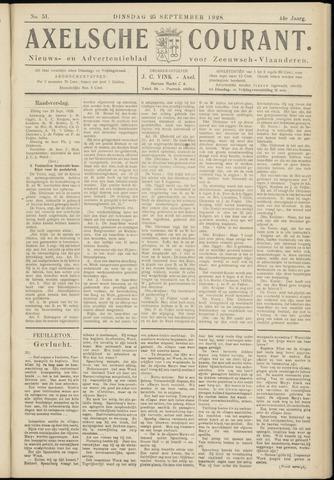 Axelsche Courant 1928-09-25