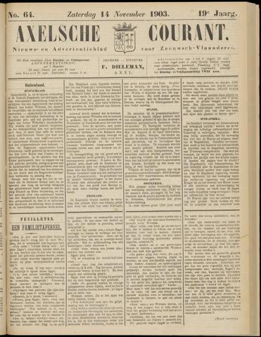 Axelsche Courant 1903-11-14