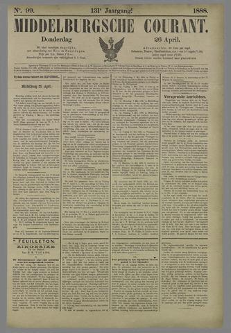 Middelburgsche Courant 1888-04-26