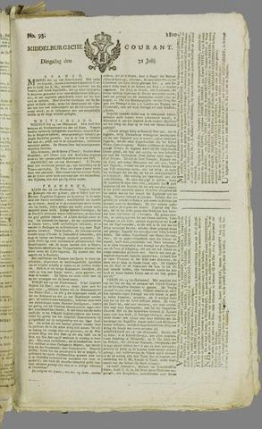 Middelburgsche Courant 1810-07-31