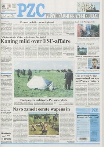 Provinciale Zeeuwse Courant 2001-08-28