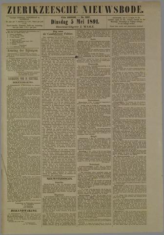 Zierikzeesche Nieuwsbode 1891-05-05