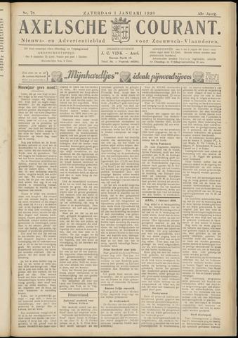 Axelsche Courant 1938