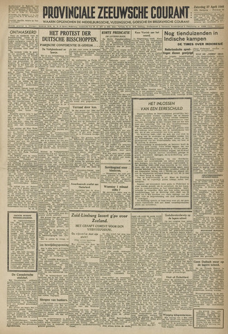 Provinciale Zeeuwse Courant 1946-04-27