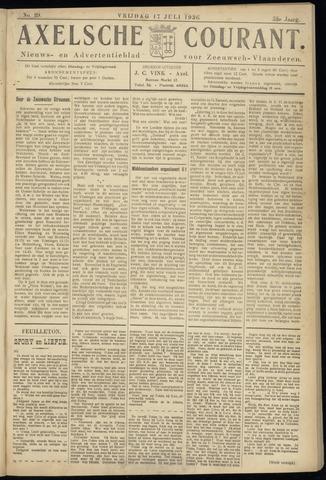 Axelsche Courant 1936-07-17