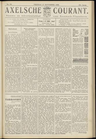 Axelsche Courant 1939-11-17