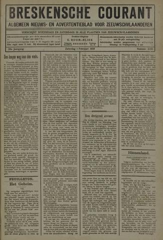 Breskensche Courant 1919-02-01