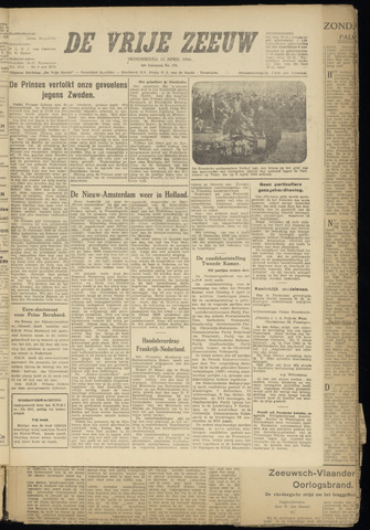 de Vrije Zeeuw 1946-04-11