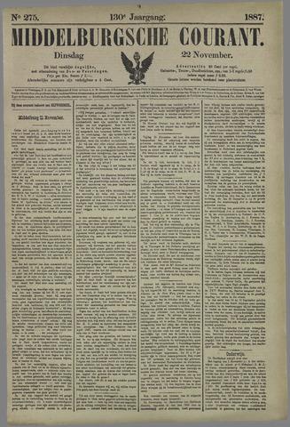 Middelburgsche Courant 1887-11-22