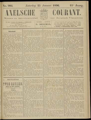Axelsche Courant 1896-01-25