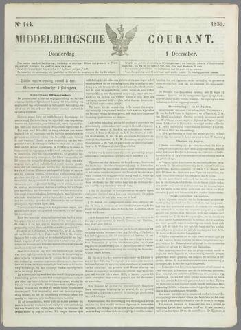 Middelburgsche Courant 1859-12-01
