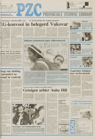 Provinciale Zeeuwse Courant 1991-10-14