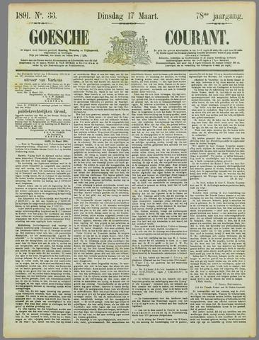 Goessche Courant 1891-03-17
