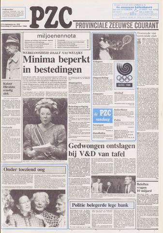Provinciale Zeeuwse Courant 1988-09-21