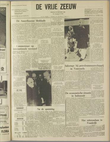 de Vrije Zeeuw 1962-10-30