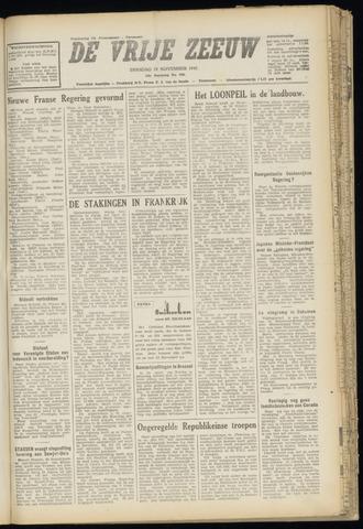 de Vrije Zeeuw 1947-11-25
