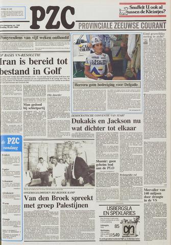 Provinciale Zeeuwse Courant 1988-07-19