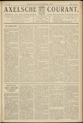 Axelsche Courant 1934-11-09