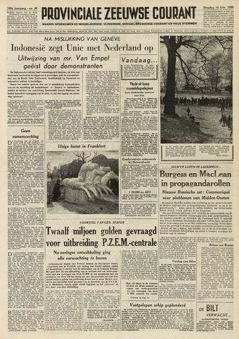 Provinciale Zeeuwse Courant 1956-02-14
