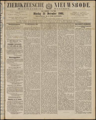 Zierikzeesche Nieuwsbode 1901-12-31