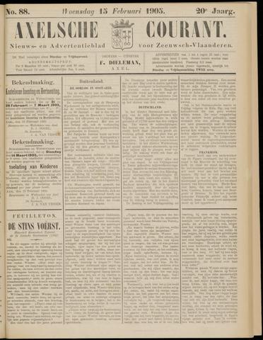 Axelsche Courant 1905-02-15