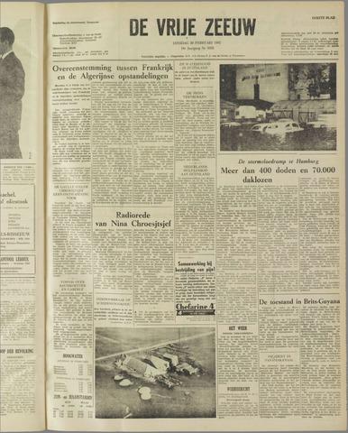 de Vrije Zeeuw 1962-02-20