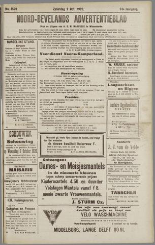 Noord-Bevelands Nieuws- en advertentieblad 1926-10-02