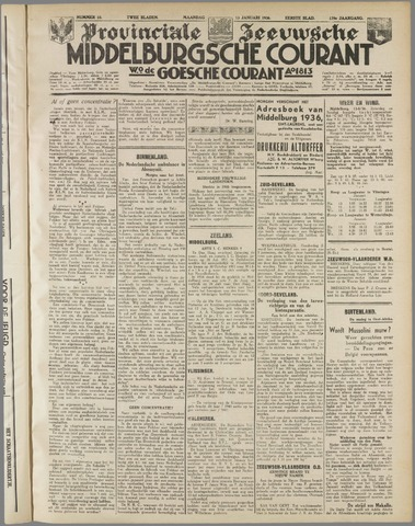 Middelburgsche Courant 1936-01-13