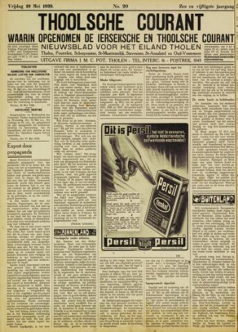 Ierseksche en Thoolsche Courant 1939-05-19