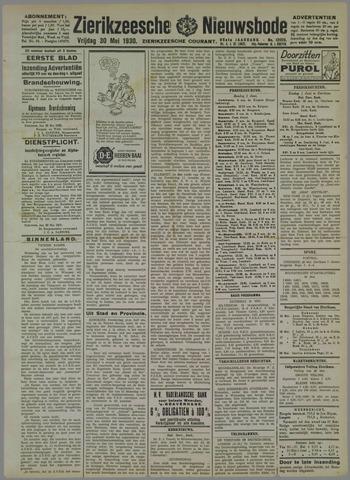 Zierikzeesche Nieuwsbode 1930-05-30