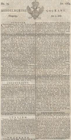 Middelburgsche Courant 1764-07-03