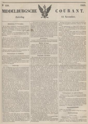 Middelburgsche Courant 1869-11-13