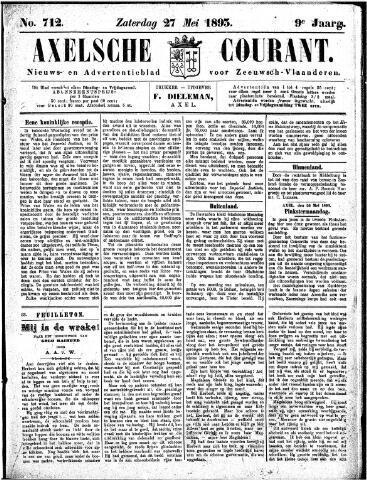 Axelsche Courant 1893-05-27