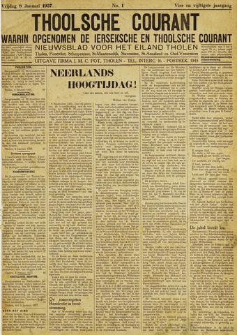 Ierseksche en Thoolsche Courant 1937