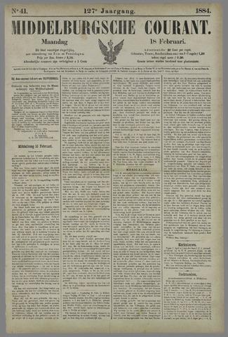 Middelburgsche Courant 1884-02-18