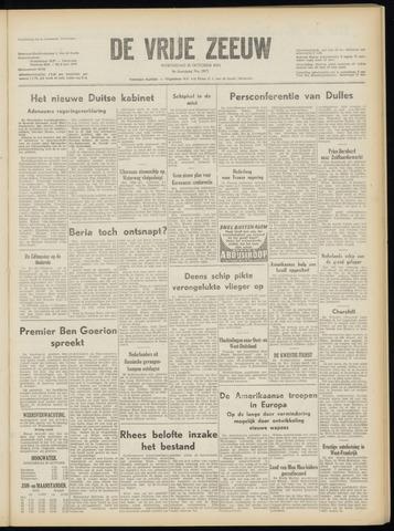 de Vrije Zeeuw 1953-10-21