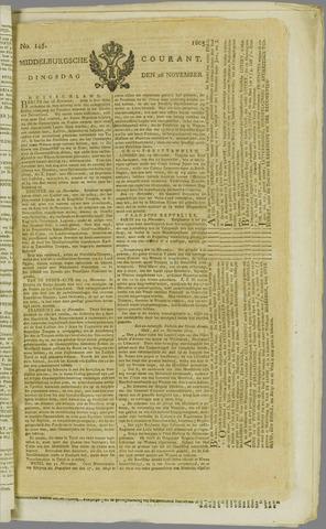 Middelburgsche Courant 1805-11-26