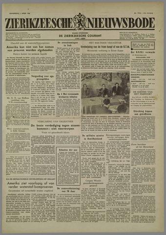 Zierikzeesche Nieuwsbode 1954-04-01