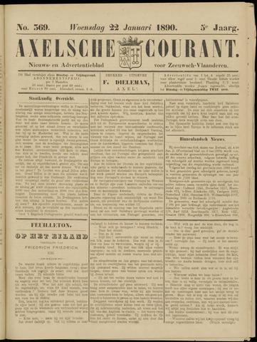 Axelsche Courant 1890-01-22