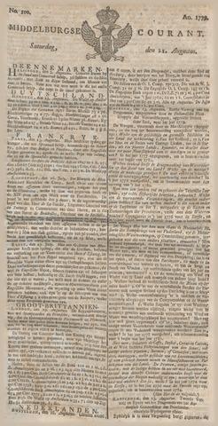 Middelburgsche Courant 1779-08-21