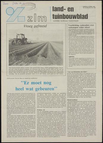 Zeeuwsch landbouwblad ... ZLM land- en tuinbouwblad 1990-04-06