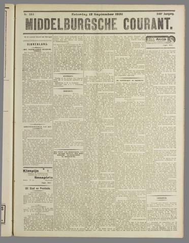 Middelburgsche Courant 1925-09-12