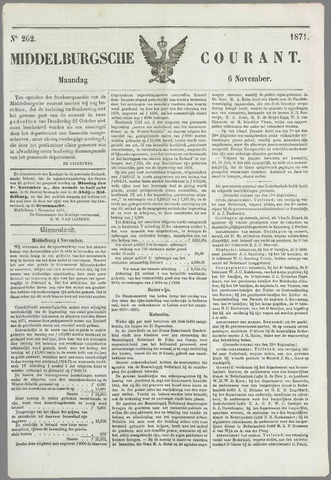 Middelburgsche Courant 1871-11-06