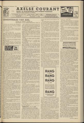 Axelsche Courant 1957-01-12
