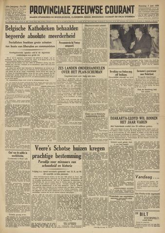 Provinciale Zeeuwse Courant 1950-06-05