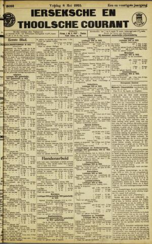 Ierseksche en Thoolsche Courant 1925-05-08