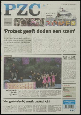 Provinciale Zeeuwse Courant 2014-08-04